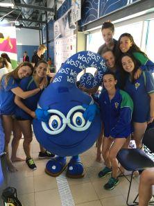Equip natació CEMediterrani Oporto 2016-2