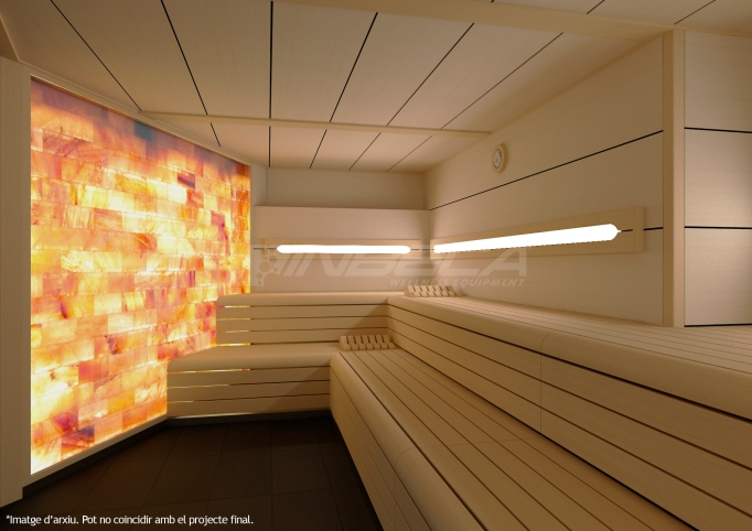 sauna haloterapia club mediterrani - inbeca